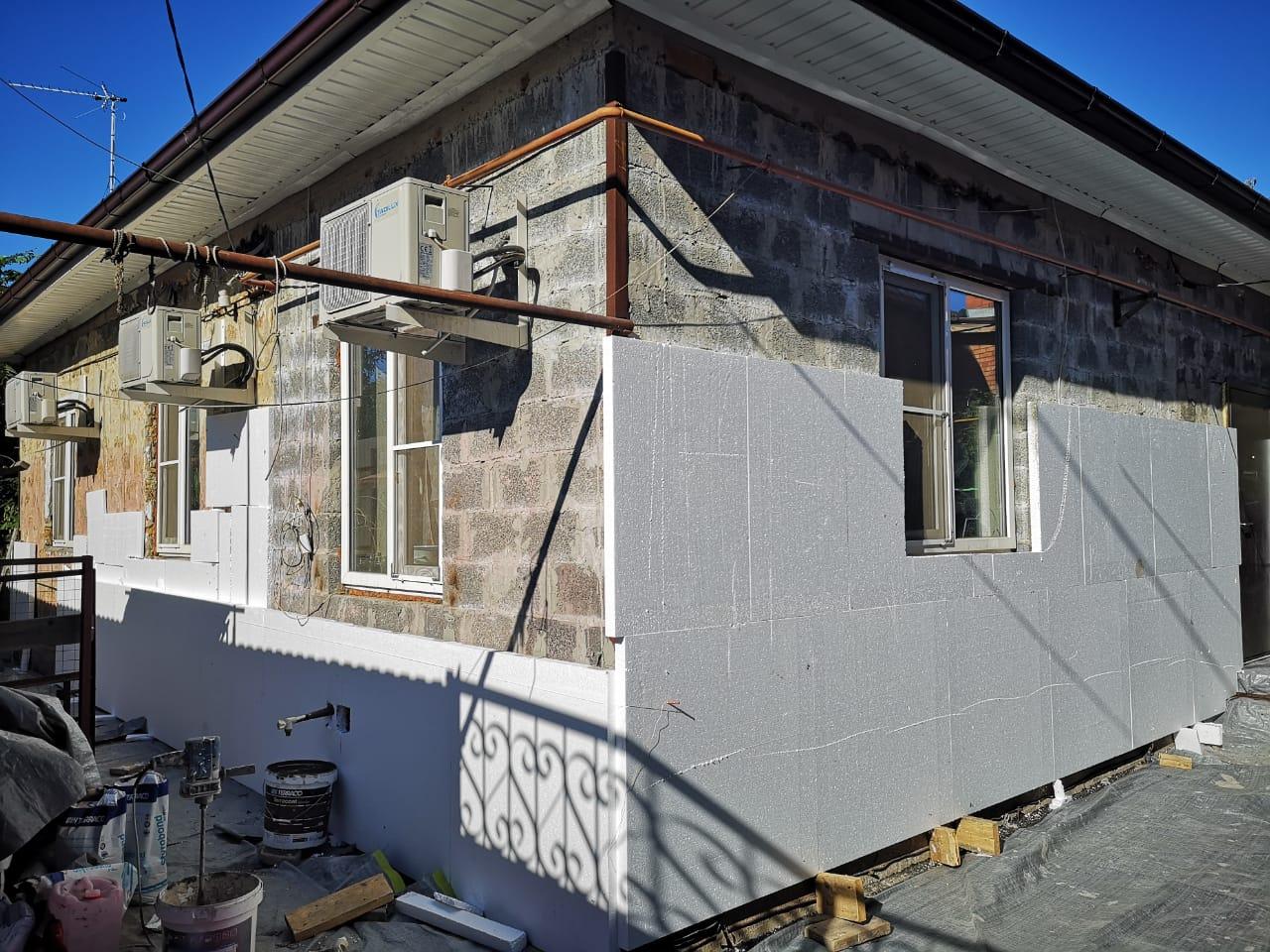 фото промерзания фасада для